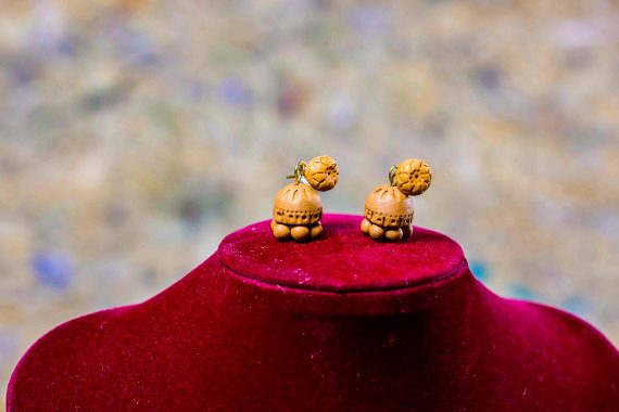 Semman Terracotta Earrings