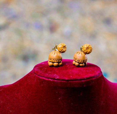 Semman Terracotta Earrings